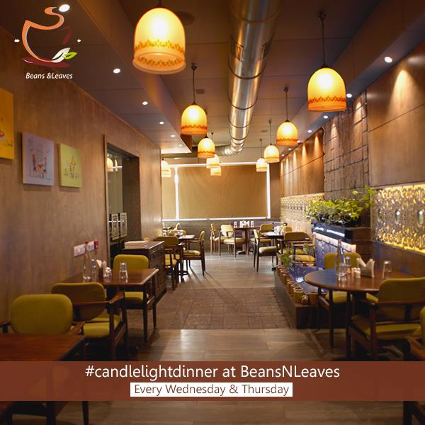 #Reason2: Ambiance: Beans & Leaves sports a rustic European Ambience unlike anything you have seen. What makes #BNL perfect is its romantic ambience with candle lighting and slow background music - by Beans And Leaves, Ahmedabad