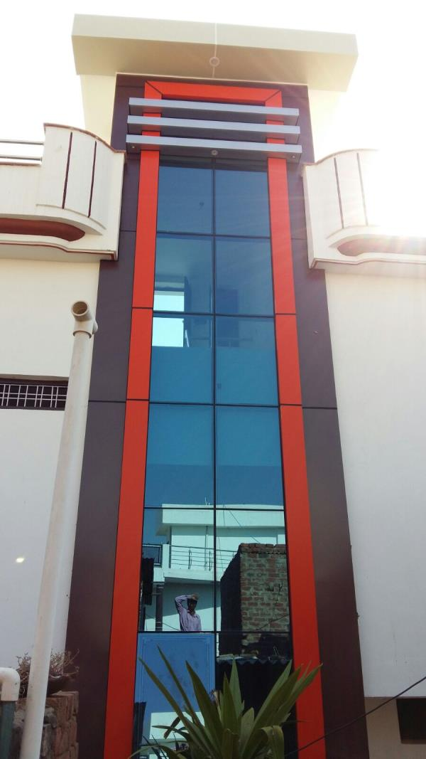 We provide all type of glasses and aluminium item pvc door sections' fiber steel item - by Shree Shyam Glass House, Alwar