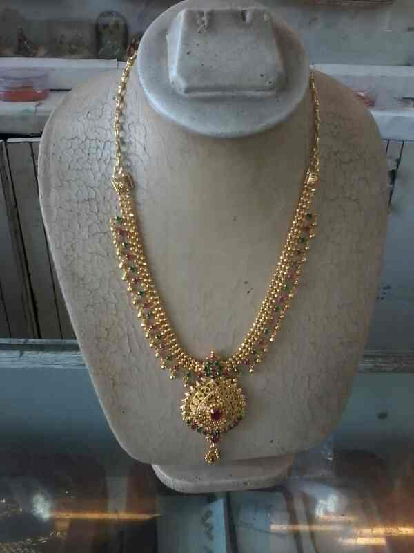 one gram gold - by Shree Krishna Jewellers, Hyderabad