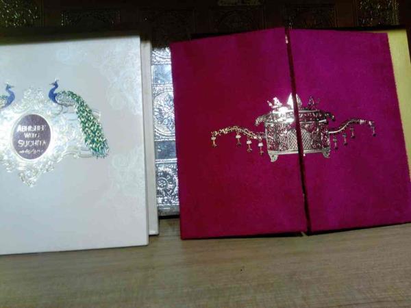 Unique Wedding cards - by Raga Wedding Cards, Hyderabad
