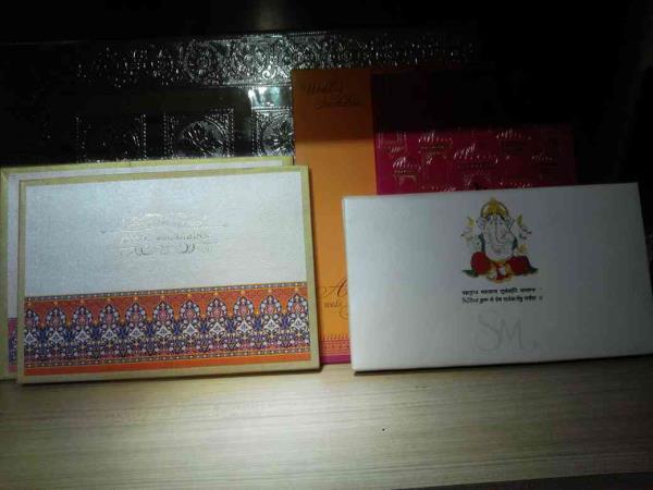 Latest wedding cardd - by Raga Wedding Cards, Hyderabad