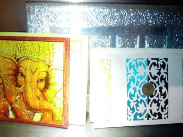 Designer Wedding Cards - by Raga Wedding Cards, Hyderabad