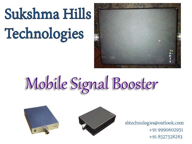 Carriers provide cell coverage through a network of strategically placed cellular towers. Ideally, whenever you're within this network, your mobile device will automatically connect with the closest tower, and as you move, will continue hop - by Mobile Signal Booster|Sukshma Hills Technologies, delhi