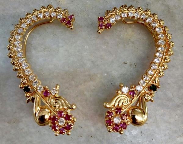 Kaan Imitation Jewellery with American Diamonds - by SHARDA SHRINGAR ART JEWELLERS, Mumbai