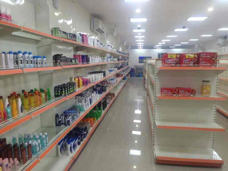 super market rack - by lobrossteel_industries@yahoo.com, Bhopal