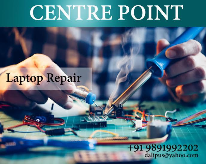 Center Point Laptop repair center highly qualified professionals expert technicians can repair all types laptop parts and components at your home and offices. Our all technicians are completed well-qualified though all Laptop Repair Service - by ERP Solutions in india | 9654195383, Delhi
