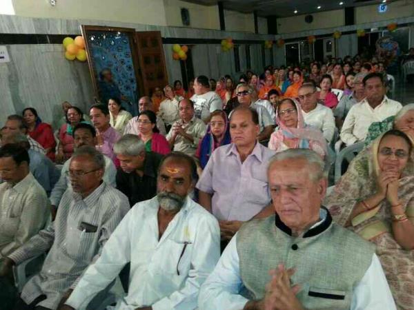 Bhagwat Katha Hira Hall Hyderabad  Gents Attendence 2016 - by Bhagwat Katha Narrater in Hindi, Hyderabad