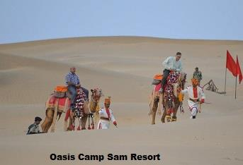Camel Desert Safari :  We are a team of experts having valued experience in desert safari  and camel safari Jaisalmer .The Oasis Safari Team has averaged its complete Experience with its Staff's experience to create desert safari India to d - by Oasis Camp Sam Resort, Jaisalmer