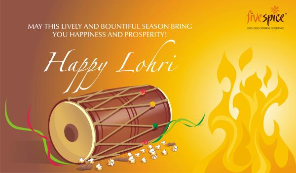 Five Spice Caterers Team wishes u a very Happy Lohri.. www.fivespice.in - by Caterers in Delhi , Wedding Caterers in  Delhi., NEW DELHI