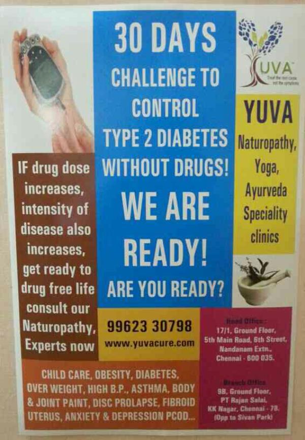 Treatment For Disc Prolapse Without Surgery - by Yuva Naturopathy & Yoga Clinics, Chennai