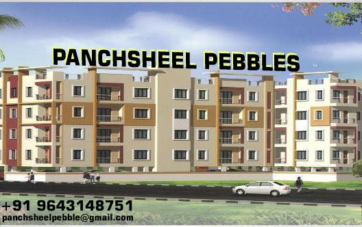As with all the elements of a modern commercial building, the roof is built to accepted industry standards and there is not much thought that goes into it beyond the standards.  commercial flat in vaishali,  commercial flats in vaishali gha - by Panchsheel Pebbles, Ghaziabad