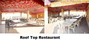 Restaurant : Guests can relish special traditional Rajasthani, Bengali, Punjabi, South Indian, Continental and Chinese cuisine at the roof top restaurant. This restaurant offers a splendid view of the Golden Fort, city palaces and forts.  - by Hotel Prince & Resort, Jaisalmer