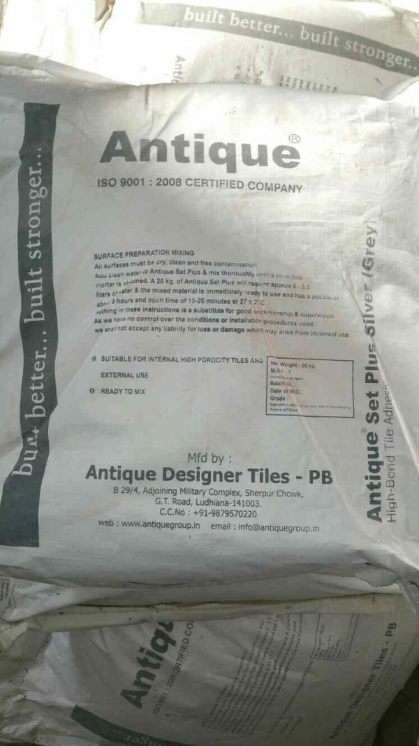 we are manufacturers of tiles adhesive in Morbi  - by Antique designer tiles , Morbi