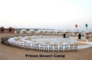 Desert Camps : Our Camp is Located at Sam Just in Front Of The Send Dunce & Sun Set Point. Desert Accommodation Is The Different Accommodation. You Can Enjoy in Desert In Swiss Tent & Swiss Hut's.. - by Hotel Prince & Resort, Jaisalmer