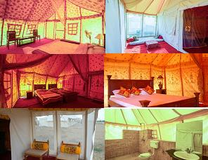 """Prince Resort and Desert Camp : 'Mobile camping' provides an unsurpassed experience of the desert of Rajasthan. The camps are designed for comfort featuring airy two person tents with proper cots & bedding, hot showers and a """"bathroom"""". ten - by Hotel Prince & Resort, Jaisalmer"""