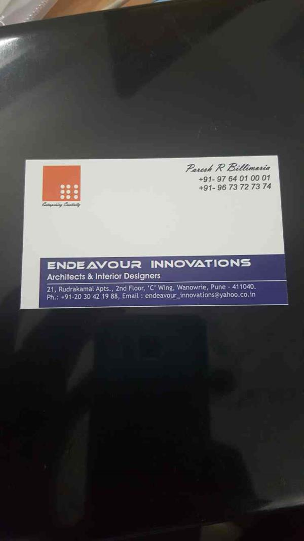 BEST INTERIOR AND DESIGNER IN PUNE - by Endeavour Innovations, Pune