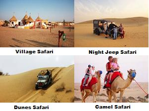 DESERT CAMP SAFARI :  Night Jeep Safari Village safari Dune Safari Desert Camel Safari  - by Tao's Lakhamana Desert Camp Jaisalmer, Jaisalmer