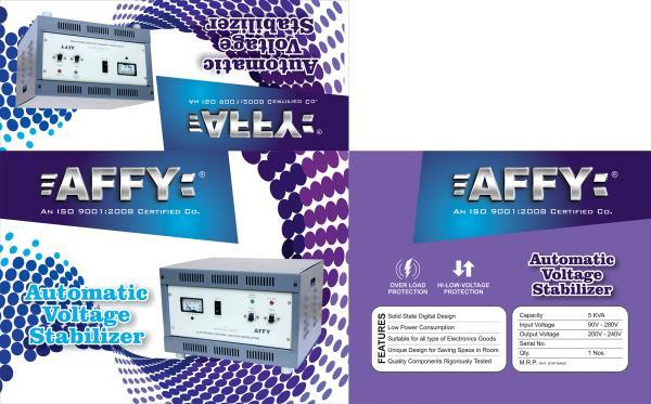 AFFY STABLIZER & VOLATAGE CONTROLLER - by Ranchi Powertech, Ranchi