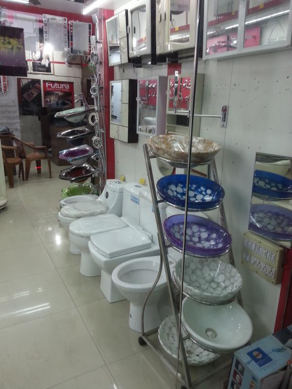 deepak ceramic deals in all type of bathroom fittings  cabinet mirrors , wash basins , kitchen sinks , Futura kitchen sinks ,  hindware , paryware , cera , ess ess , jaquar , many more  u will get the highest discounts compare to other stor - by Deepak Ceramic, Bangalore