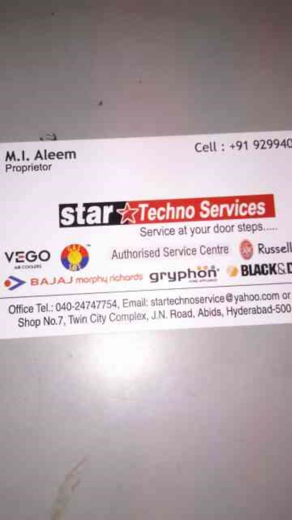 ac dealers in hyderabad  - by Star Techno Service, Hyderabad