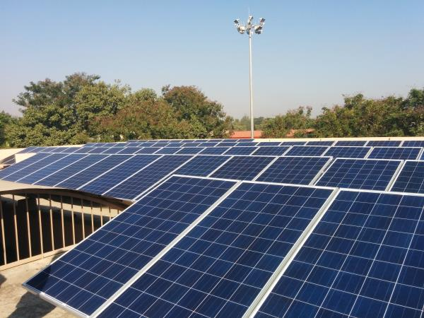 WE HAVE SUCCESSFULLY COMISSIONED 50 KW GRID TIED ROOFTOP SOLAR POWER PROJECT IN SILVASSA - by Kashyap Infraprojects Pvt Ltd, Surat