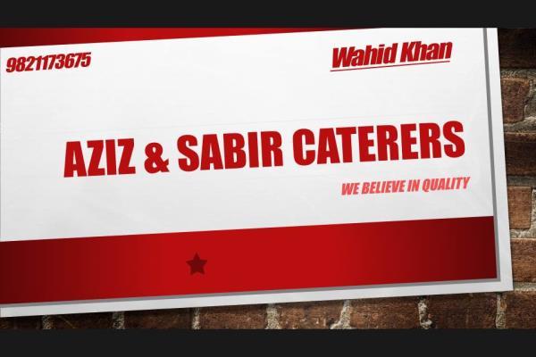 2016 ... - by Aziz & Sabir Caterers, Mumbai