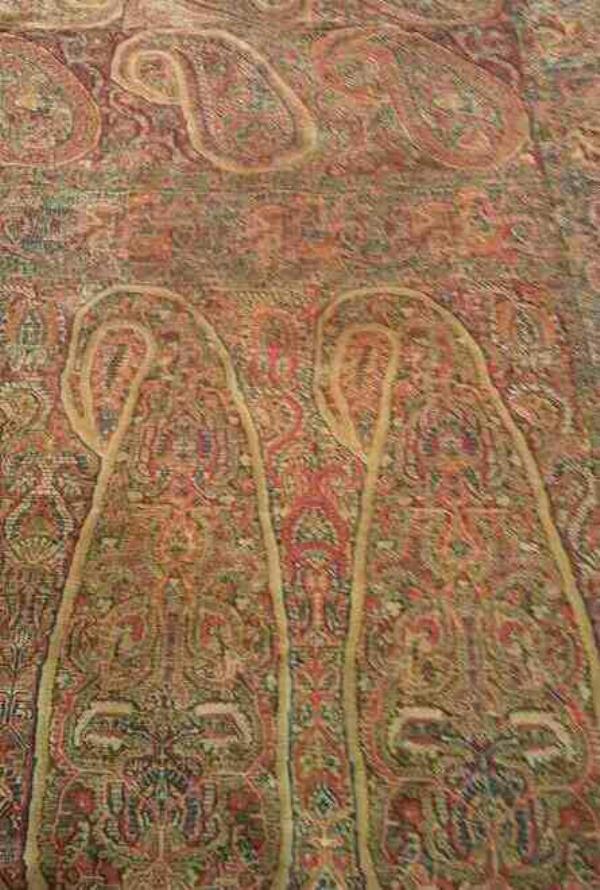 kani shawl - by antiq jamawar shawl, delhi