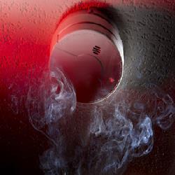 wireless fire smoke alarm manufacturer in delhi  - by Cross Fire India, Haryana