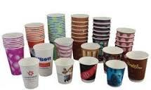 i provided paper cup with different colours - by KUBERAKSHI ENTERPRISES, Jaipur