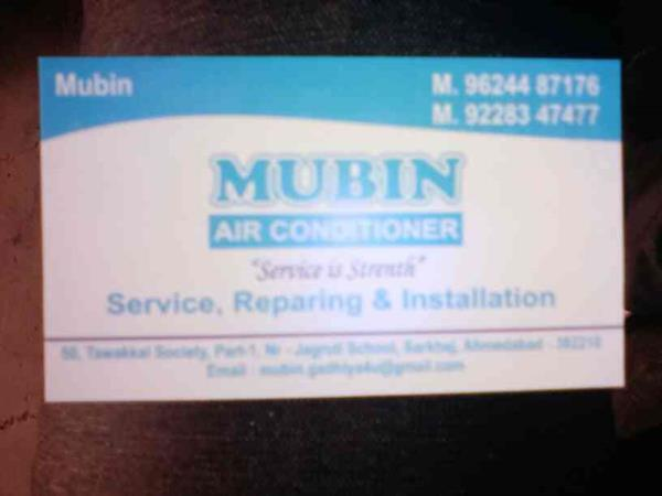 best AC service provider in gujarat  call: 9988765544  - by Mubin Air Conditioner, Ahmedabad