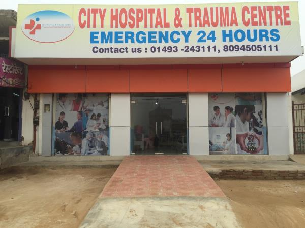CITY HOSPITAL & TRAUMA CENTRE A 30 BEDED MILTISPECAILITY HOSPITAL IN TAPUKARA - by City Hospital & Trauma Center, Alwar