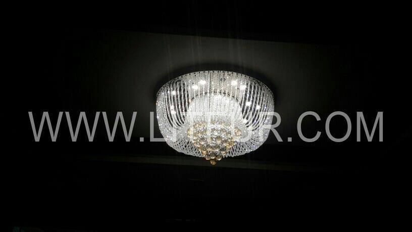 crystal beads chandelier  panama - by Litfur Crystal lighting, Delhi