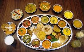 Rajasthani Food ; Rajasthani thali; Rajasthani cuisine; Special Rajasthani Recipes : Dal Bati Churma , Gatta , Ker Sangri , Gatte ki Khichdi, Bundi Raita,  Rajasthani Khadi, Gata Pulao, shahi gatte,  - by Restaurant Desert Bite Jaisalmer, Jaisalmer