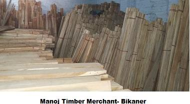 Logs & Timber Dealer in Bikaner - by Manoj Timber Merchant, Bikaner