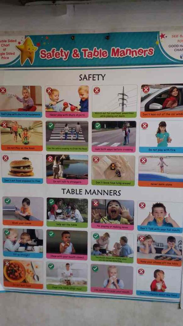 Safety Manner For A child - by Umahs, Chennai