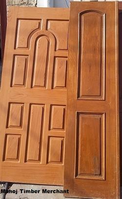 Burma Teak Wooden Doors - by Manoj Timber Merchant, Bikaner