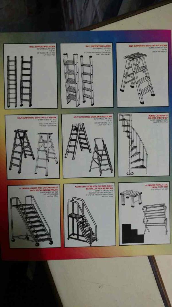 best aluminium ladder in delhi  - by Super Industries, Delhi