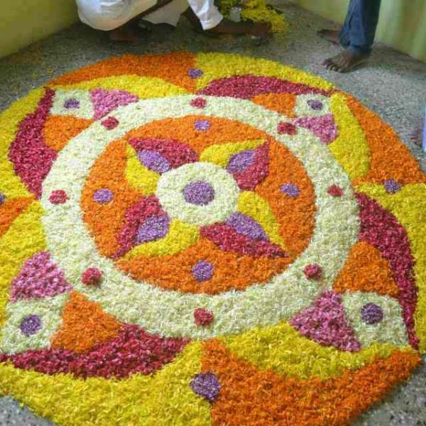 best rangoli - by Shrishyamflowersdecorationbeawar, Beawar