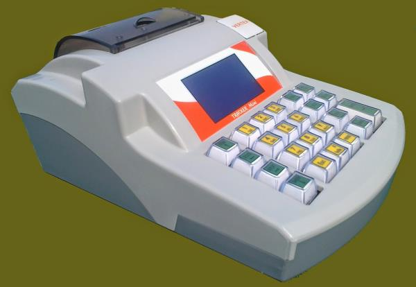 VERTEX   ELECTRONIC CASH REGISTER  MODEL:    TRACKER MINI				  (Optional GSM)   	MAIN FEATURES: 1) LANGUAGE PRINTING                                          2) PENDRIVE CONETIVITY                                          3) LARGE DISPLAY  - by Ktron Systems, Bangalore