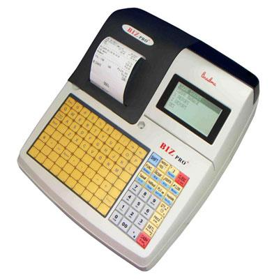 Electronic Billing Machine Brand : Bradma MODEL: BIZ PRO+   	                	                       Standard Hardware 							        ● Operator LCD display: 22 characters*5lines  ● Customer LCD display: 9 Characters  ● Keyboard with 28 str - by Ktron Systems, Bangalore