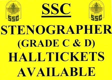 SSC STENOGRAPHER ADMIT CARDS - by Youth Choice E Zone, SRIKAKULAM