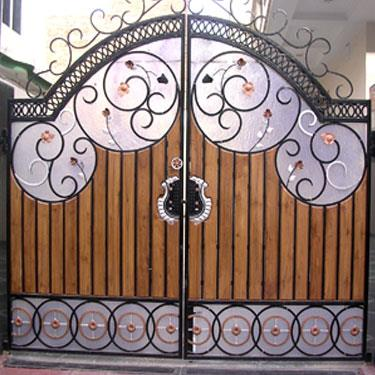 we are done modern gate fabrication  - by Dhana Engineering, Coimbatore
