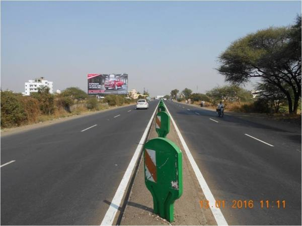 Highway Hoardings on Ahmednagar- pune Road - by Elements Media Solutions, Ahmednagar