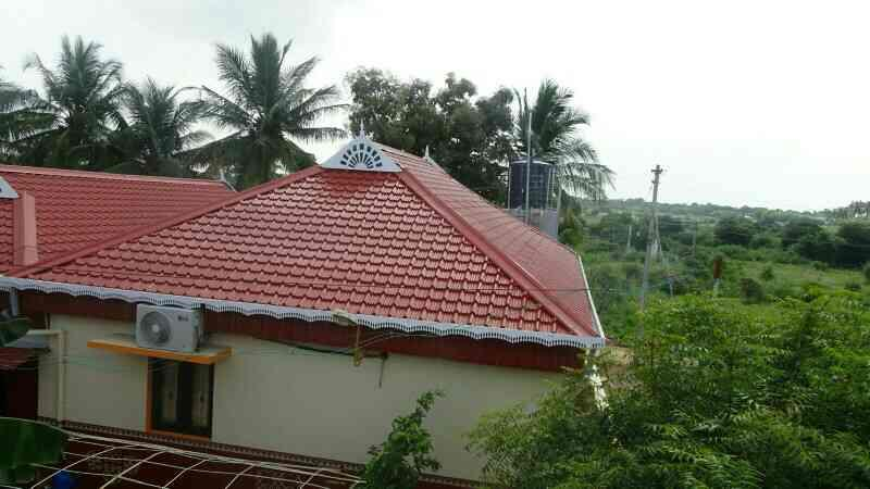 we don't collect any advance payment for kerala Tile roofing,  just u pay after the work  - by Srs Colour Roofing salem, Salem