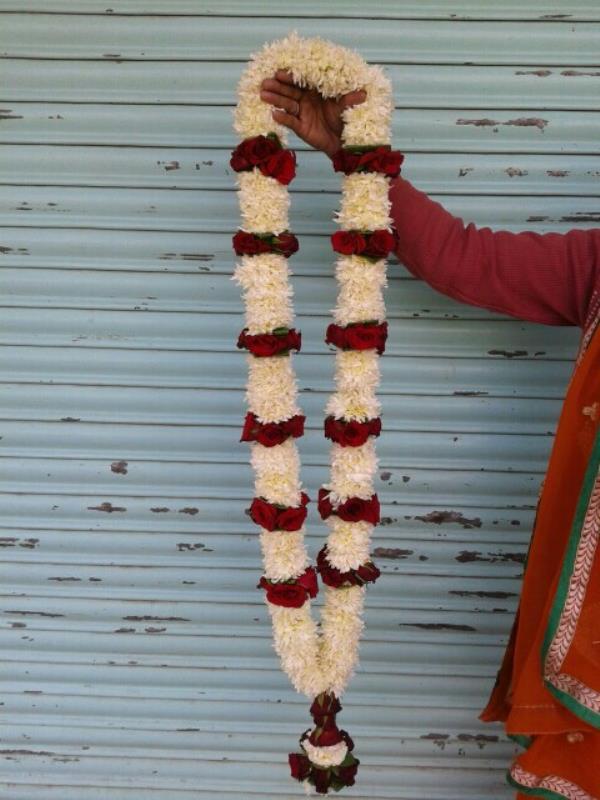 varmala - by Shrishyamflowersdecorationbeawar, Beawar
