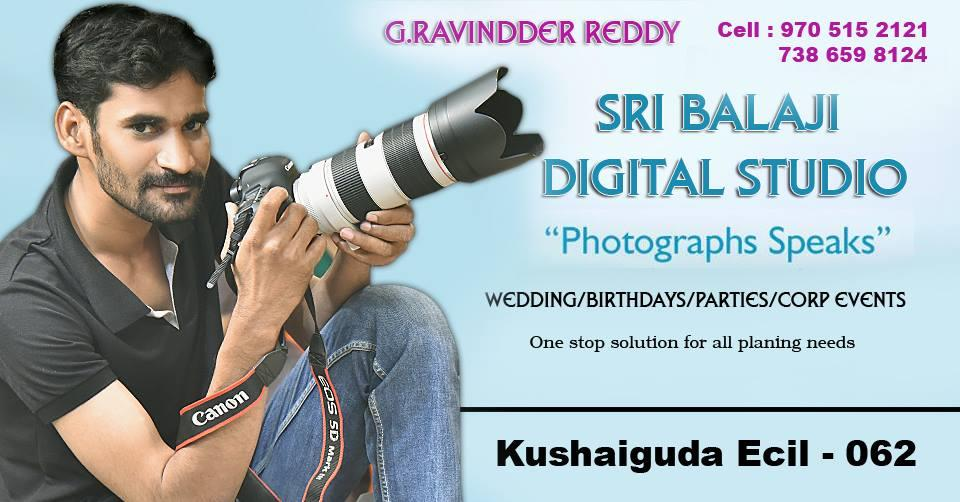 We deals in wedding, still, photography - by Sri Balaji Digital Studio, Secunderabad