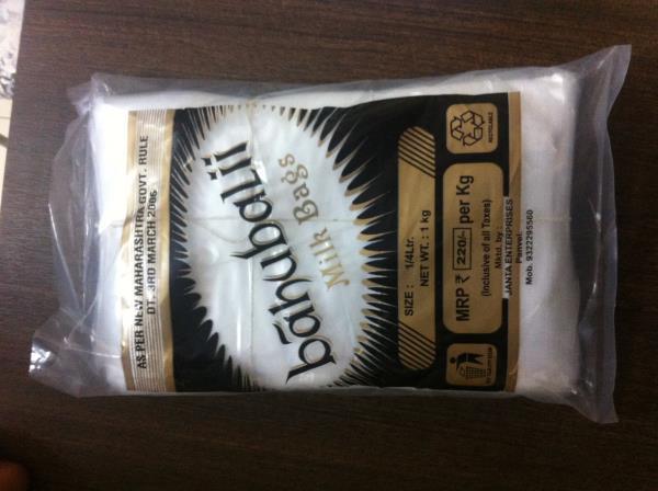 Milk Bag in all sizes 1/4 ltr, 1/2 ltr, 1 ltr, 2 ltr, 5ltr  - by Janta Enterprises, Thane