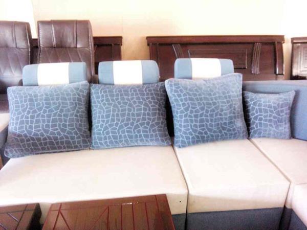 Box model sofa at landmark Furniture - by Landmark Furniture, Hyderabad