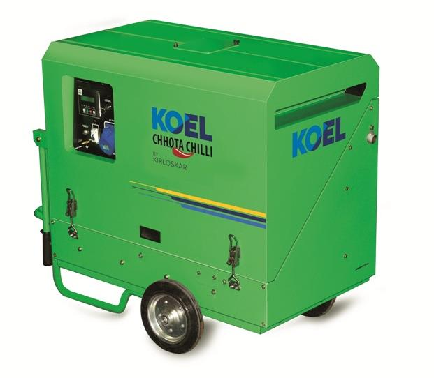 Diesel Fuel Silent Portable Generator 3 Kva  Features:  - 100% indian make portable silent petrol/kerosene/diesel generator. - Manufacturing factory located in dehradun, ware house in delhi/ supply/install on pan india basis. Have strong se - by Swastik Power, Chandigarh