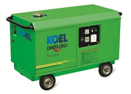 Kirloskar Chhota Chilli Petrol (KCC-Petrol) 3KVA / 1P Kirloskar Chhota Chilli Silent Petrol Gen Set - Technical Specifications  3KVA Kirloskar Chhota Chilli Silent Std. Petrol Generator Set GENSET Model: KCC-P-3.0 AS Rating: 3.3KVA , Rated  - by Swastik Power, Chandigarh